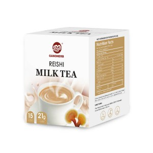 Milk Tea with Organic Ganoderma Lucidum Extract