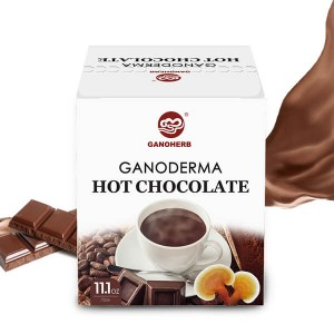 Hot Chocolate with Ganoderma Mellow chocolate flavor,Gluten-Free