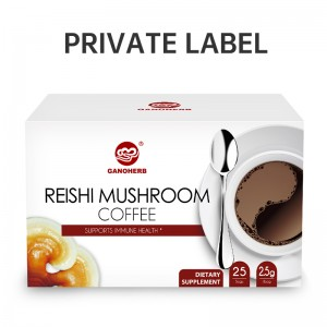 Fyra Sigmatic Mushroom-kaffeblandningar Gourmet Black Coffee