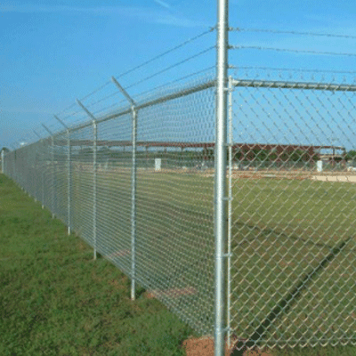 chain link fence temporary security fence Featured Image