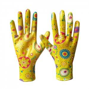 Gardening gloves  with printing