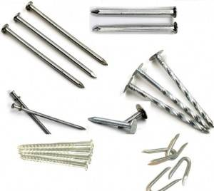 Wire nails galvanized