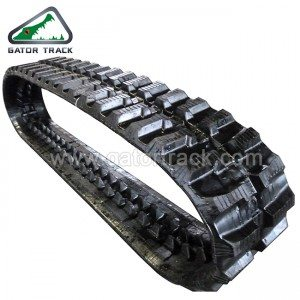 Rubber Tracks  230X72 Mini rubber tracks Mini Excavator tracks