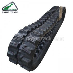 Rubber Tracks 230X72X43 Mini Graafmachine Tracks