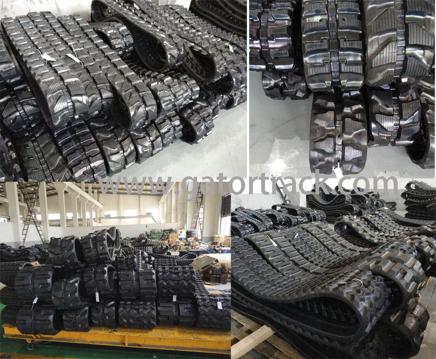 best rubber track excavator track china supplier rubber track manufacturer