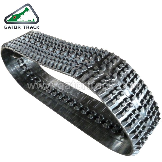 Rubber Track WD300X72 Snow Mobile Track Snow vehicle Tracks Featured Image