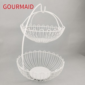 2 Tier Fruit Vegetable Basket