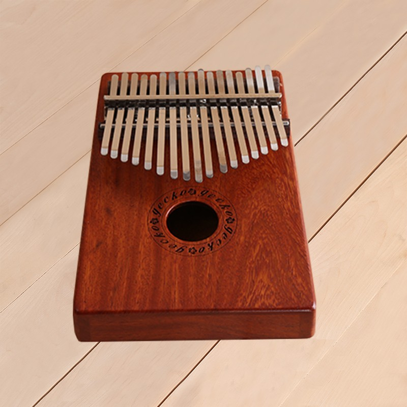 Africa Kalimba Thumb Piano 17 keyboards/ Notes KOA wooden And Metal Calimba Percussion Instrument New