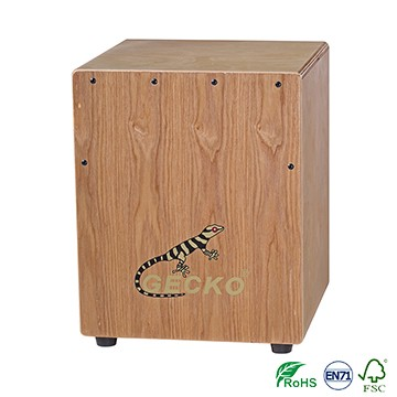 Supply OEM Souvenir Ukulele - Ash Wood GECKO mini Tapping cajon for kindergarten – GECKO