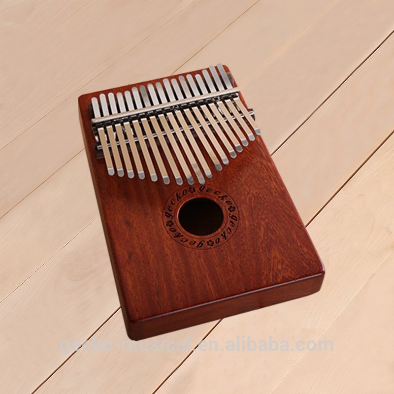 Best Price of China Factory 17 key kalimba GECKO Wooden Kalimba