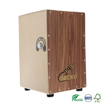 Best sounding box shaped musical instrument cajon drum