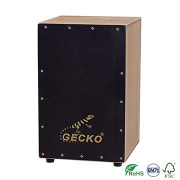 Manufacturer for Guitar Electric - birch wood hand box drum Matt Finished cajon box drum,black tapping drum set – GECKO