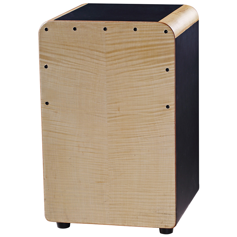 China jazz music percussion cajon drum box ,maple and birch wooden musicla box .with electronic pickup tuner,drum major mace