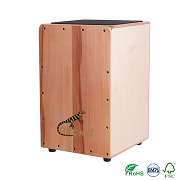China New Product Hot Sale Kalimba - China percussion apple wood cajon drum – GECKO