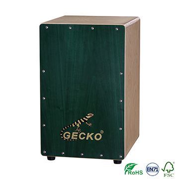 cool styling cajon bag,percussion box drum with birch body at a factory price space drum