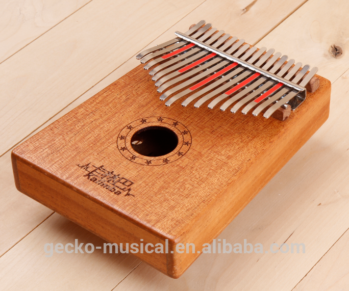 Factory OEM 10 notes / keys Mbira Mbila 10 key solid wood Kalimba