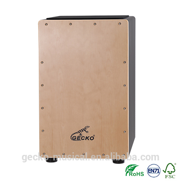 Professional Factory for 40 Inch Acoustic Guitar - gecko black body birchwood cajon – GECKO