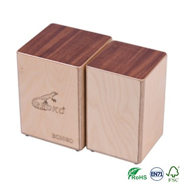GECKO BONGO-2 Cajon Siamese Box Drums / Hand Percussion Drum Instruments bongo