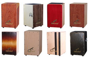 Gecko Cajon Drum Features | GECKO