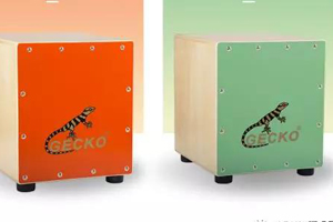 Instead of letting the kids play crazy, let the kids learn the cajon drum! | GECKO