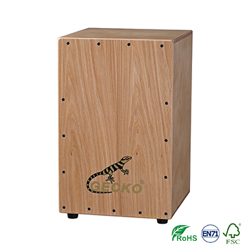 2018 Latest Design Natural Wooden Cajon - gecko Chanson Music box-shaped musical instrument playing box drums, ash wood cajon – GECKO