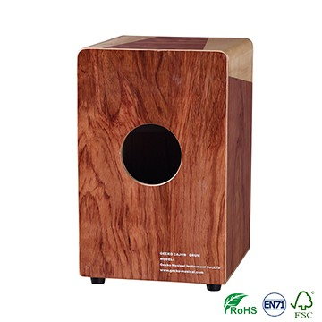 Reasonable price Colorful Wood Cajon Drum -
