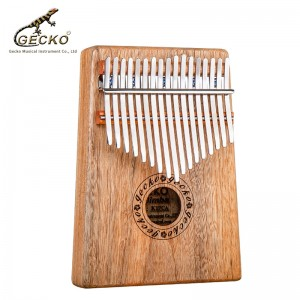 Big discounting 17 Keys Kalimba African Thumb Piano -quality Wood Mahogany Body Musical Instrument With Learning Book Tune Hammer