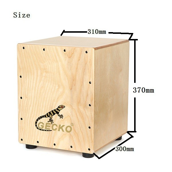Special Price for Children Wooden Cajon - gecko middle sized birchwood cajon CM062 – GECKO