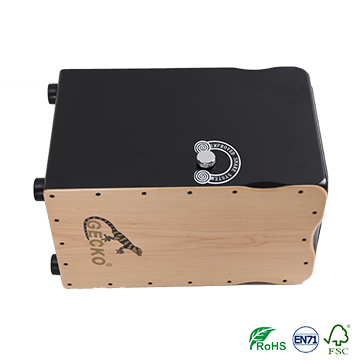 gecko multifunctional two side tapping cajon drum