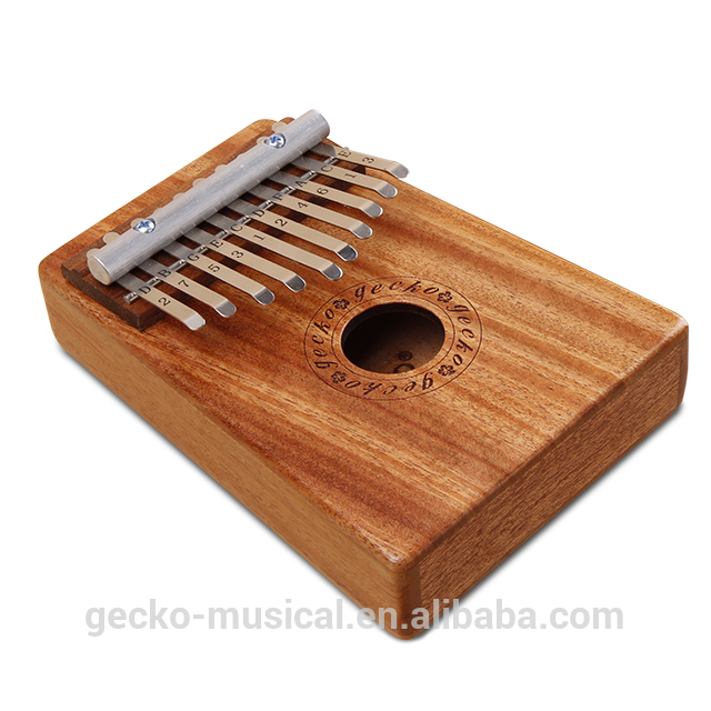 gecko natural wood professional 10 keys kalimba Featured Image