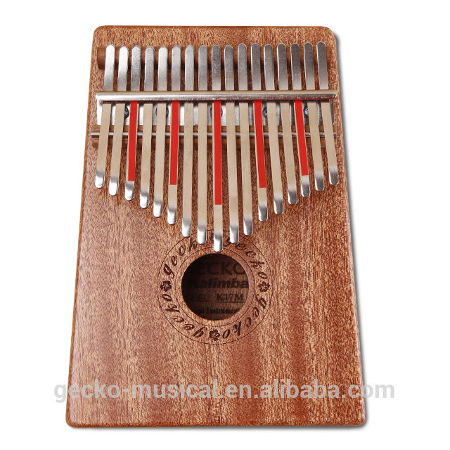 Massive Selection for Gecko Electric 17 Keys Kalimba K17meq With Eq Mbira Kalimba Sanza Thumb Piano Musical Instrument Music Toy Music Box