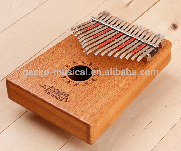 Factory For Traditional Music - Gecko professional african thumb piano Mahogany – GECKO