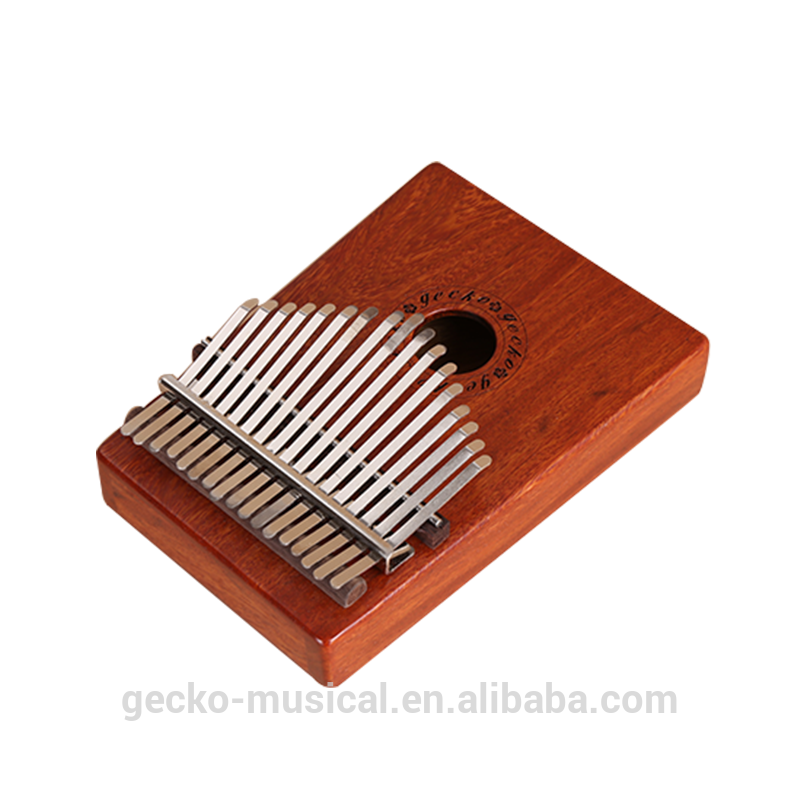 OEM Customized Gecko New K17cas Thumb Piano Kalimba Musical Instrument