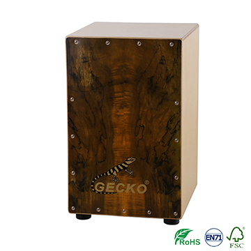Handmade Cajon Percussion Box Hand Drum Natural / Wooden Drum,music drum pad