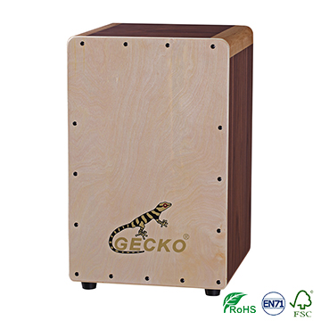 Handmade Cajon Percussion Box Hand Drum Natural,snare drum