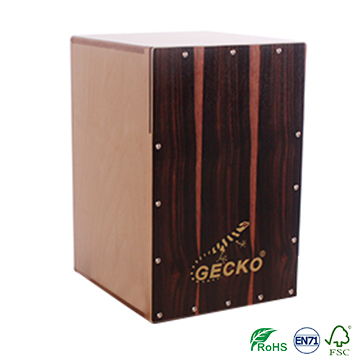 OEM China Electronic Air Drumsticks - Huizhou cajon drum box,Collapsible and foldable Cajon,ebony wood,portable – GECKO