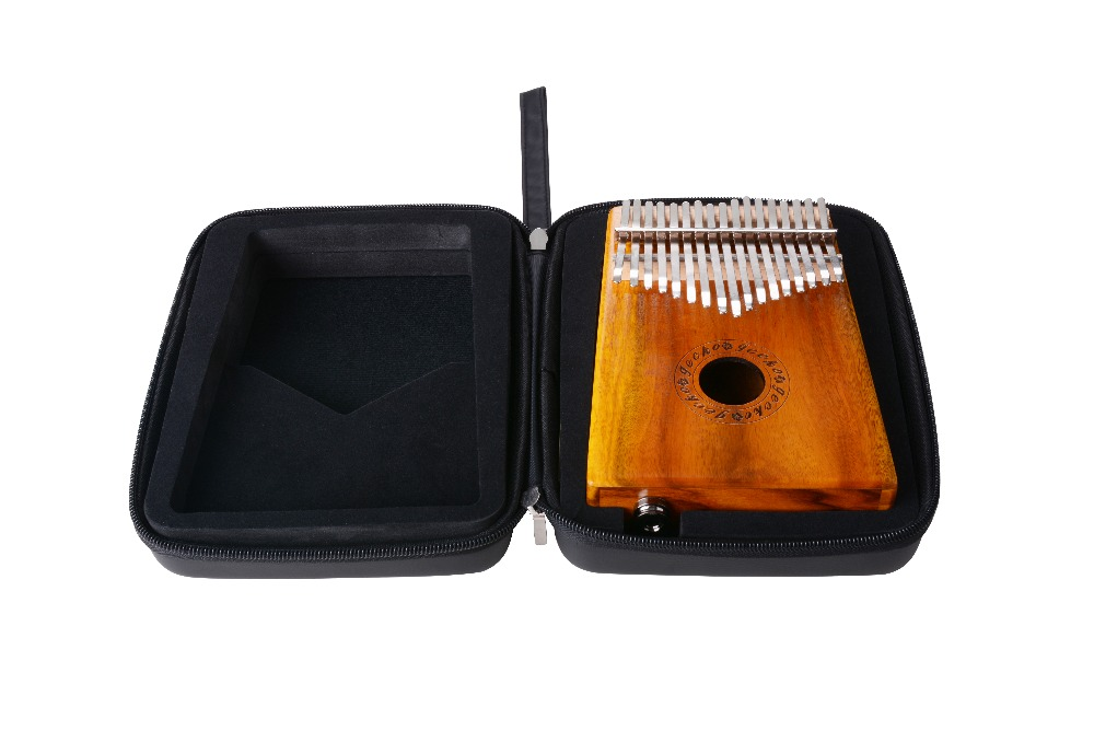 Kalimba EVA case / 17 keys Kalimba case / Black foam Kalimba case