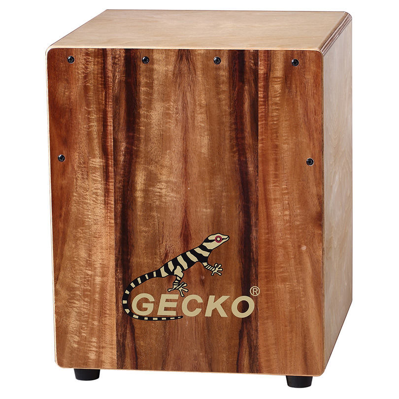 Cheapest Factory High Quality Guitar - KOA acacia wood GECKO cajon – GECKO
