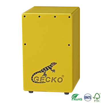 Factory Cheap Mini Electric Guitar - Mini Cajon Drum,yellow color for children – GECKO