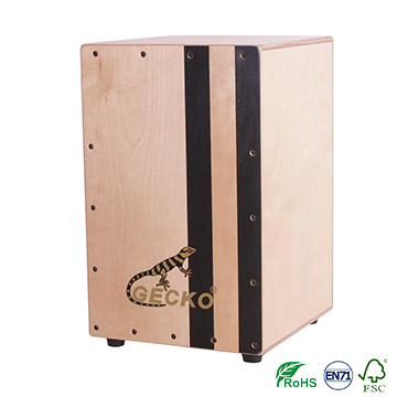 OEM Factory for Ukulele Guitar Strap - Mix Colors Black&Natural Standard Adult Cajon – GECKO