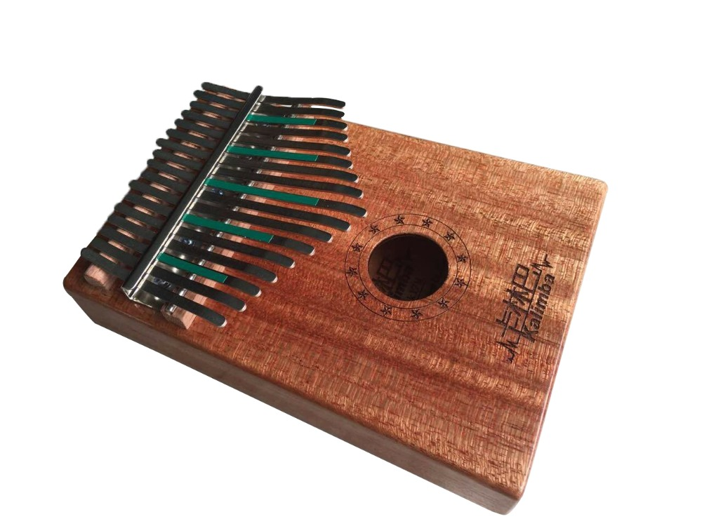 Natural 17 carbon steel Keys Kalimba Mbira Thumb Piano Traditional Musical Instrument Portable rosewood/bubinga