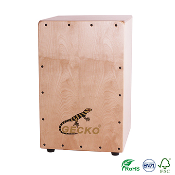 Free sample for Wood Reel Box Drum - natural wooden latin percussion cajon box drum – GECKO