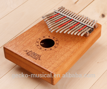 Renewable Design for Round Drum Sticks - New handmade 17 key mahogany wood Kalimba afrian wood piano – GECKO