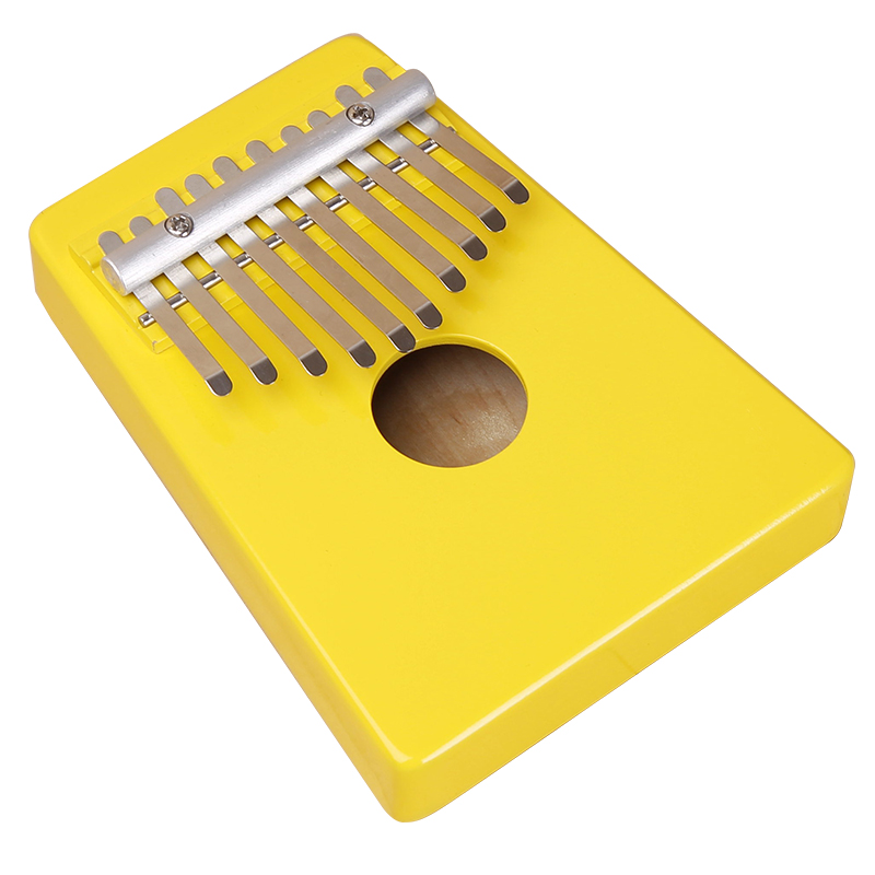New promotion hugh tracey yellow color kalimba mbira