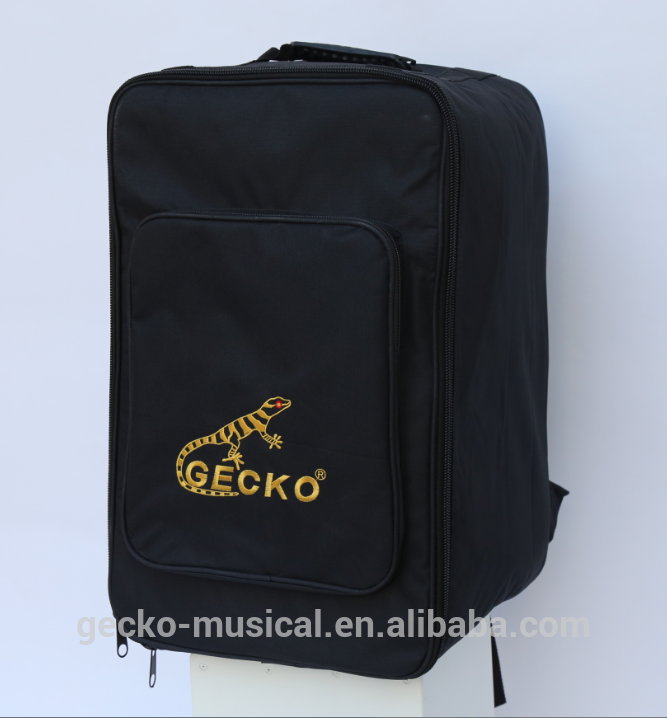 nylon and oxford gig bags for wooden cajon drum