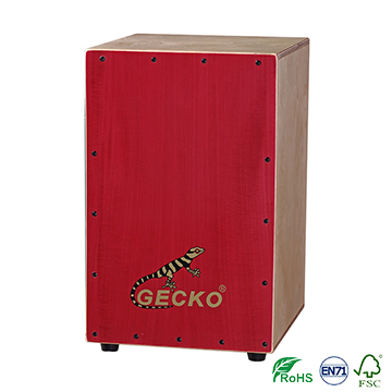 Factory Free sample Latin Angled Surface Cajon Drum - On Hot Sale Standard Birch Wooden percussion instruments cajon Drum Sets – GECKO
