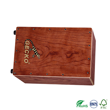 percussion musical instrument GECKO CL22 cajon drums