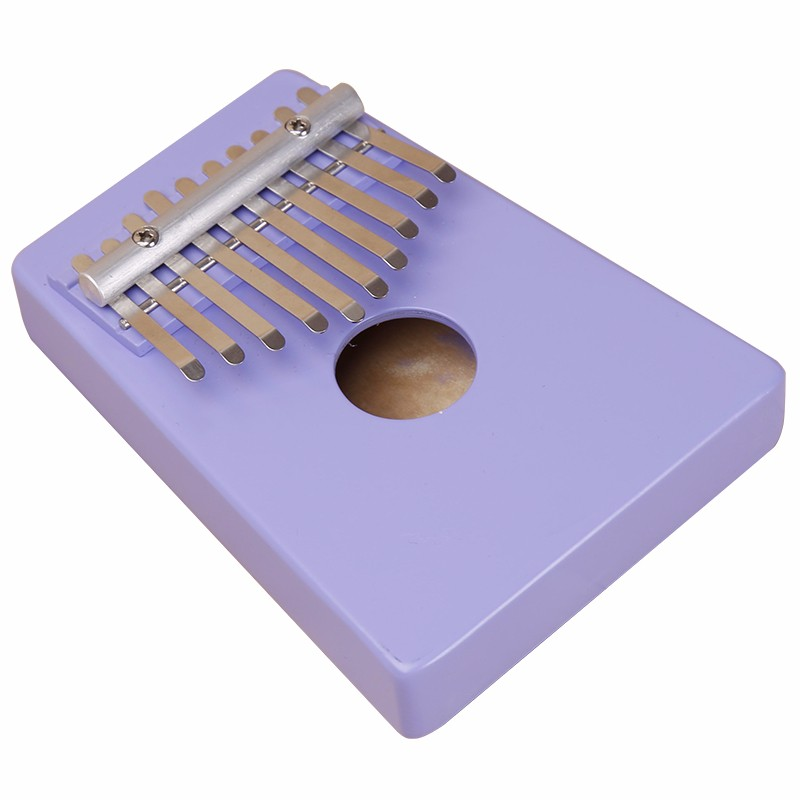 Pink Color Kids Kalimba Factory Made With Healthy Birch Wood