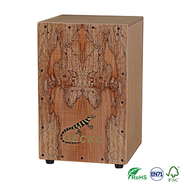 Russia birch wood plywood cajon percussion box african drum