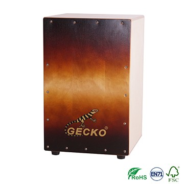High Quality Natural Color Bongo Cajon -